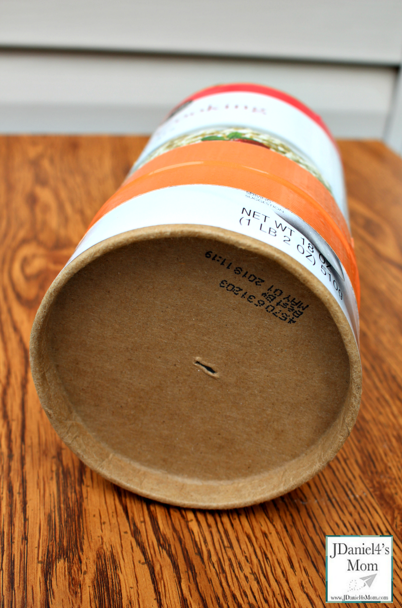 Pinhole Camera - How to Make One from an Oatmeal Container with Small Hole