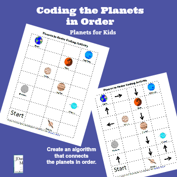 Planets for Kids - Coding the Planets in Order