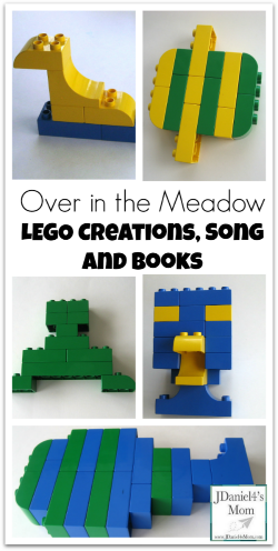 {Preschool Activities} LEG0 Duplo Creations and Books