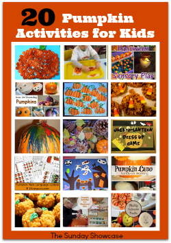 20 Pumpkin Activities for Kids