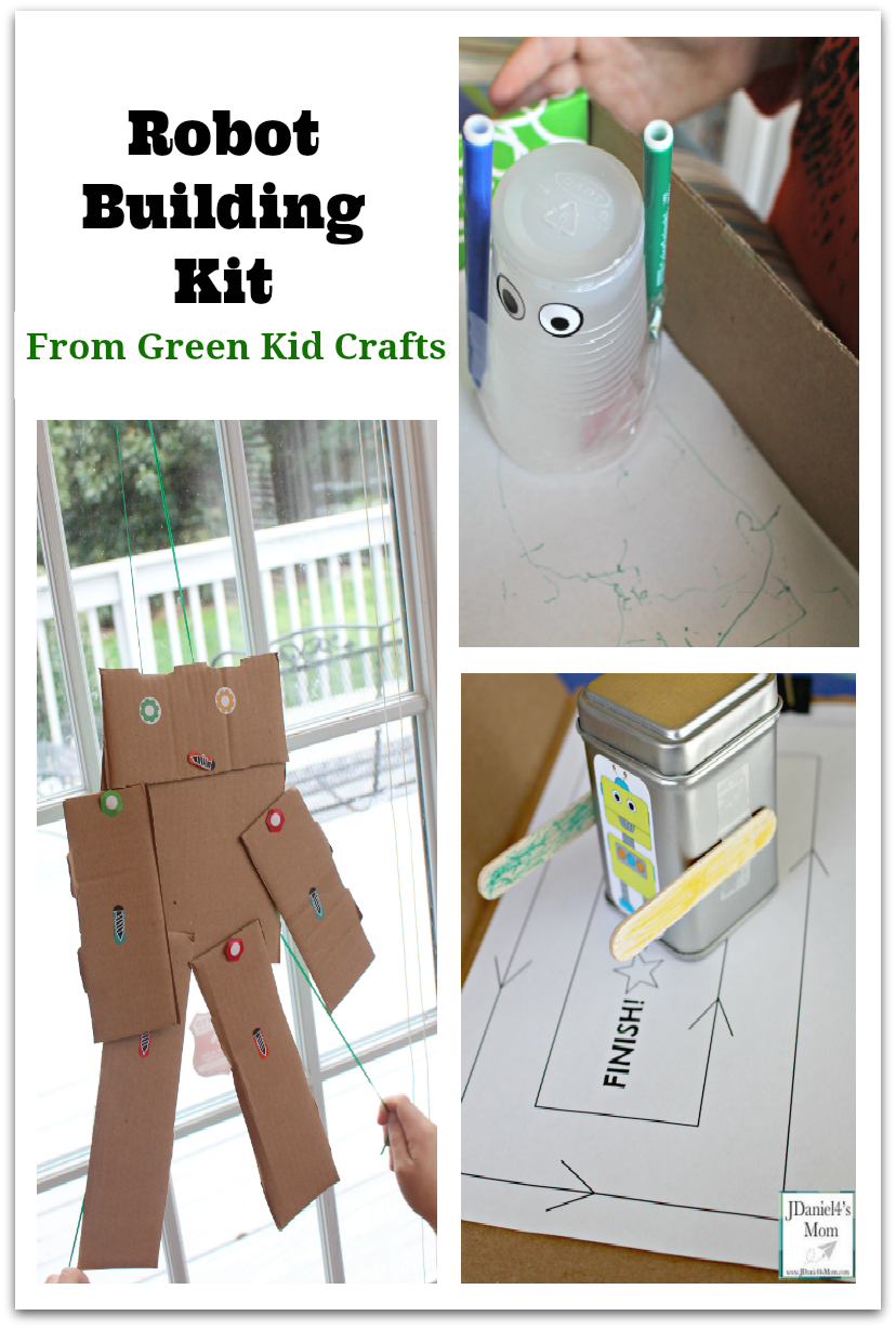 Robot Building Kit From Green Kid Crafts