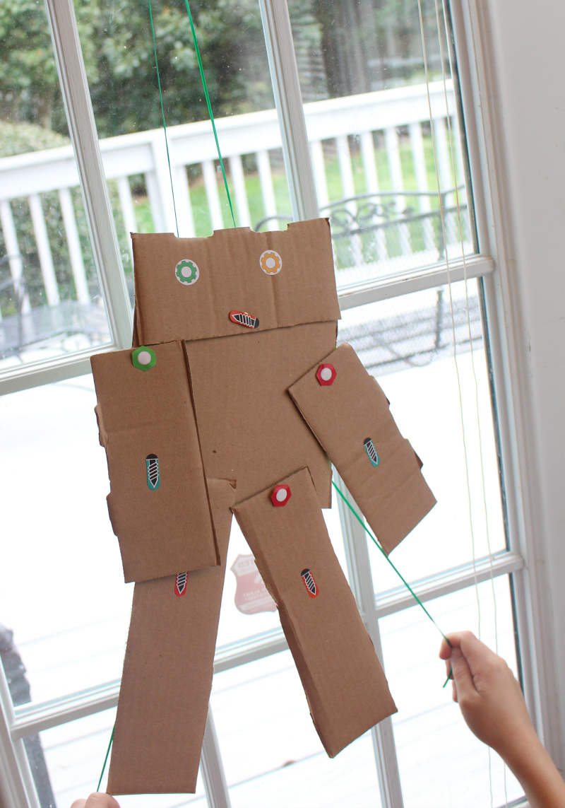 Robot Building Kit From Green Kid Crafts - This fun kit comes with the materials to make three robots.