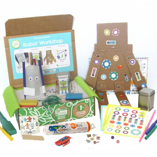 Robot Building Kit- Robot Workshop Box from Green Kid Crafts