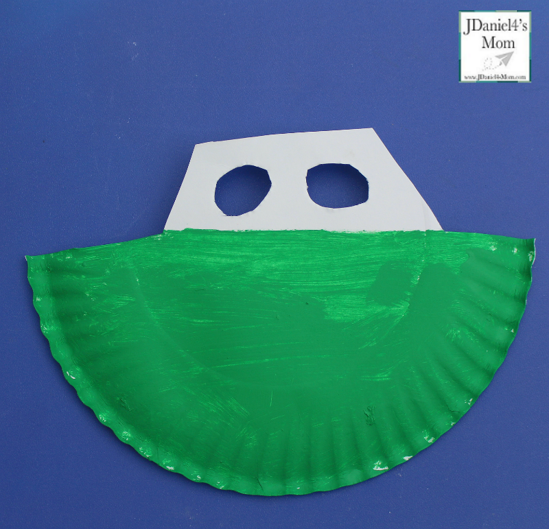 Rocking in the Waves Paper Plate Boat Craft- Boat
