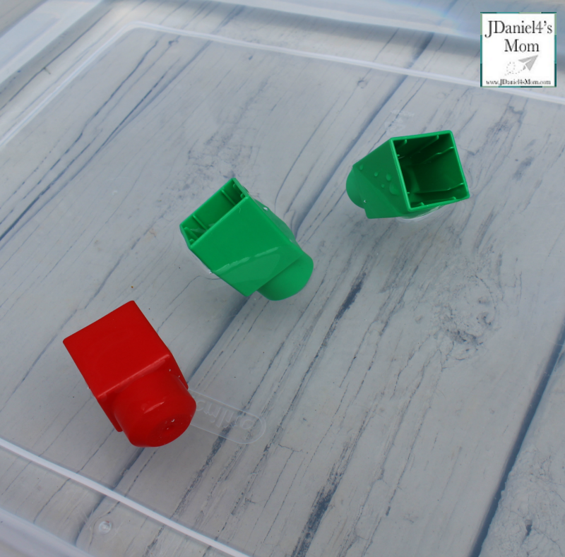 Rub a Dub Dub Three Objects in a Tub Objects- Plastic Blocks