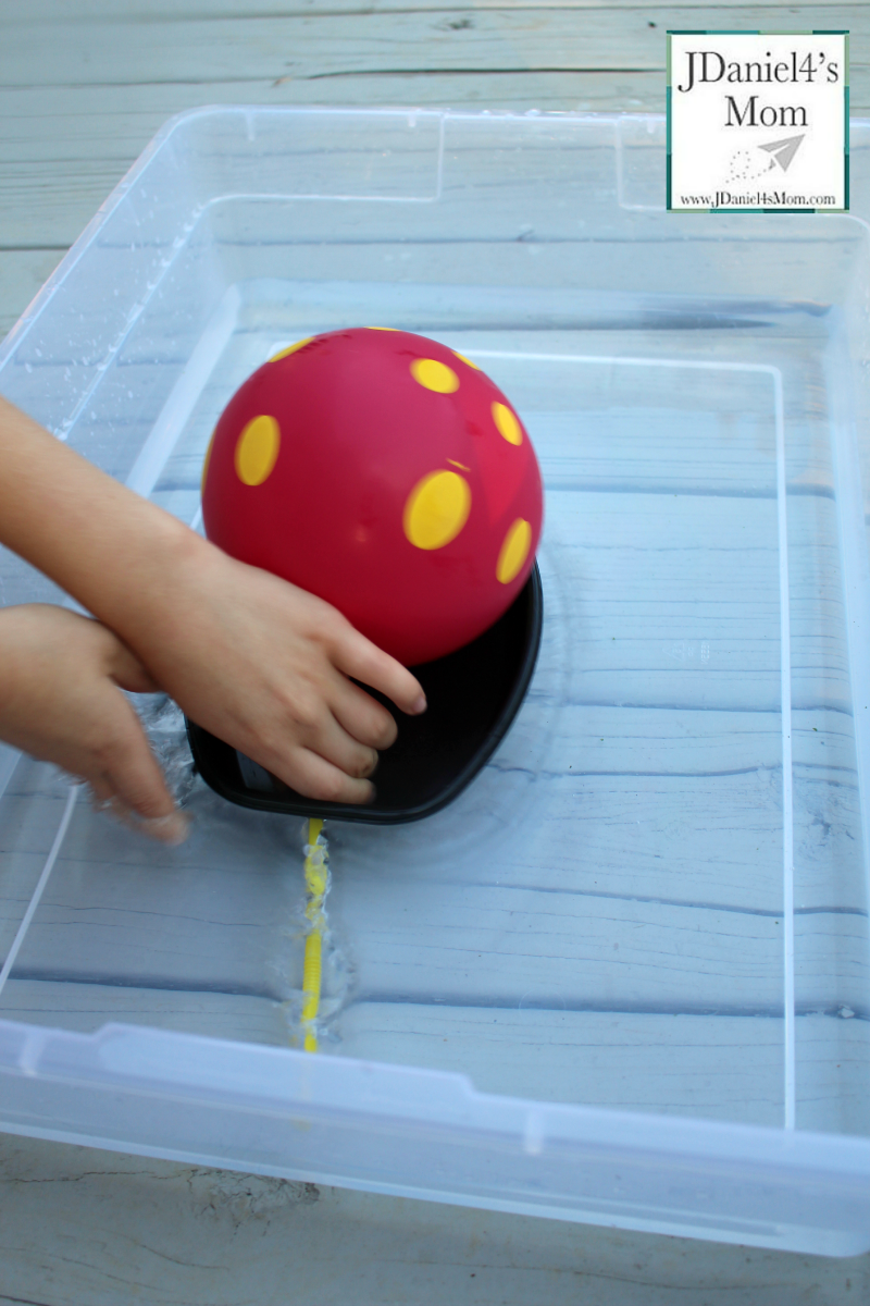 STEM Activities - Making a Balloon Boat Move Releasing Air