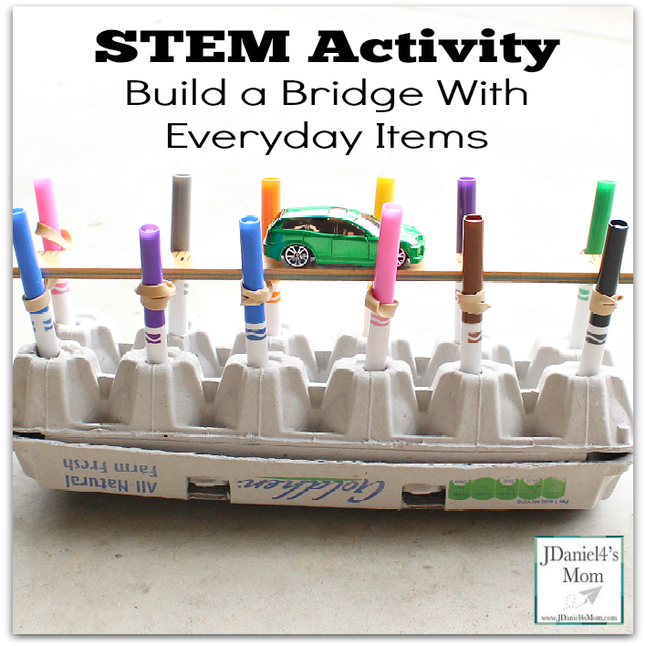 STEM Activity Build a Bridge with Everyday Items