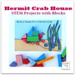 STEM Projects with Blocks- Hermit Crab House Printable Mat