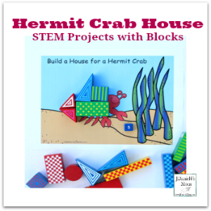 STEM Projects with Blocks- Hermit Crab House