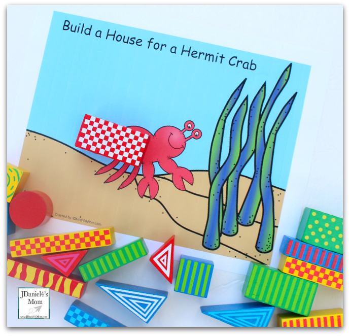 STEM Projects with Blocks- Hermit Crab House : Free Exploration
