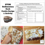 STEM Sedimentary Rock Cookie Recipe and Activity for Kids