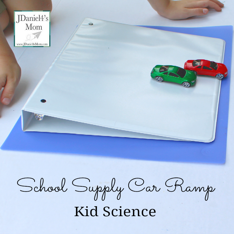 School Supply Car Ramp Kid Science