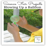 Science Fair Projects- Blowing Up a Balloon