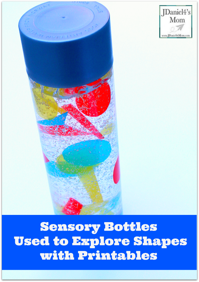 Sensory Bottles Used to Explore Shapes - This activity includes directions for making the sensory bottle, a graphing page, and a shape recording sheet.