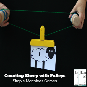 Simple Machines Games- Counting Sheep with Pulleys
