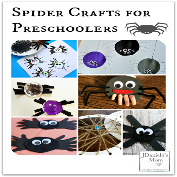 Spider Crafts for Preschoolers