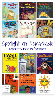Spotlight on Remarkable Mystery Books for Kids
