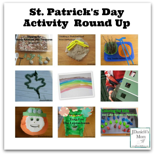 St. Patrick's Day Activity Round Up