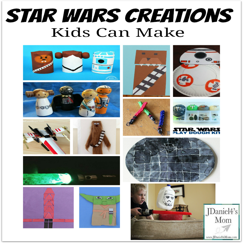 Kid Made Creations from Star Wars Movies