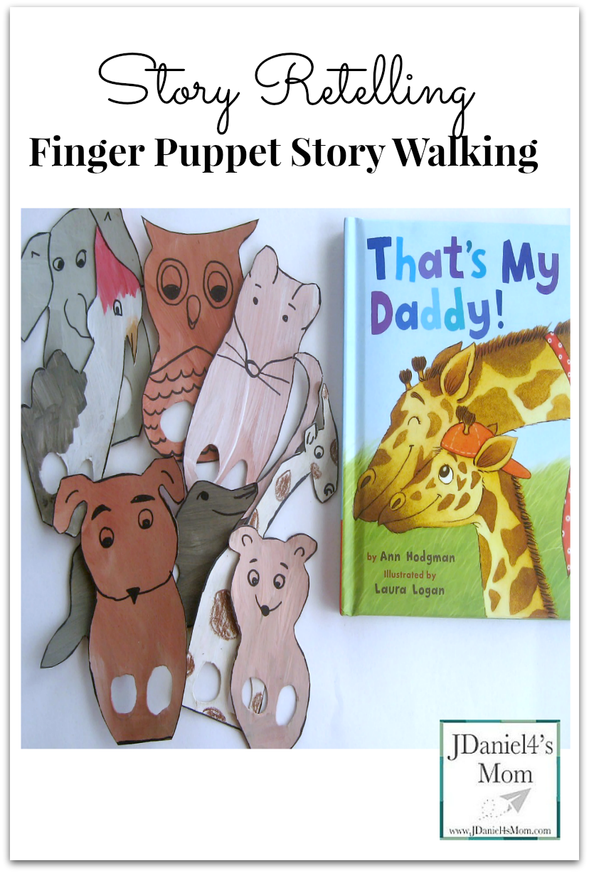 Story Retelling Finger Puppet Story Walking