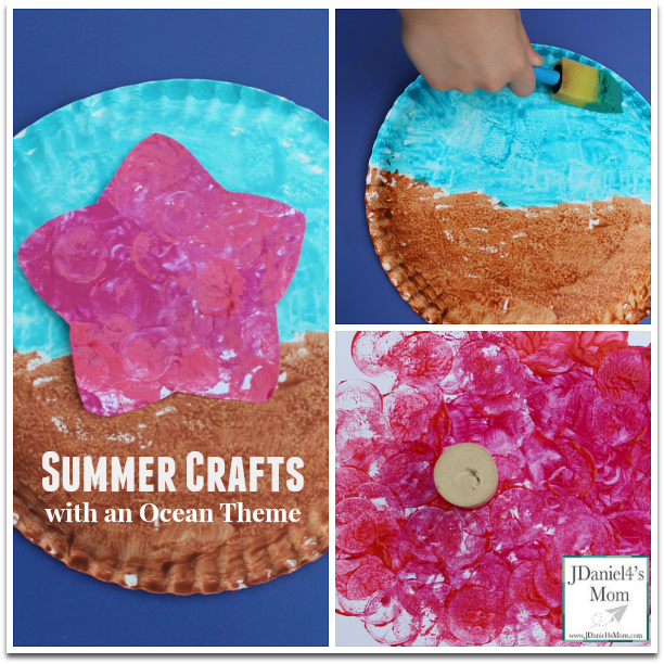 Summer Crafts with an Ocean Theme
