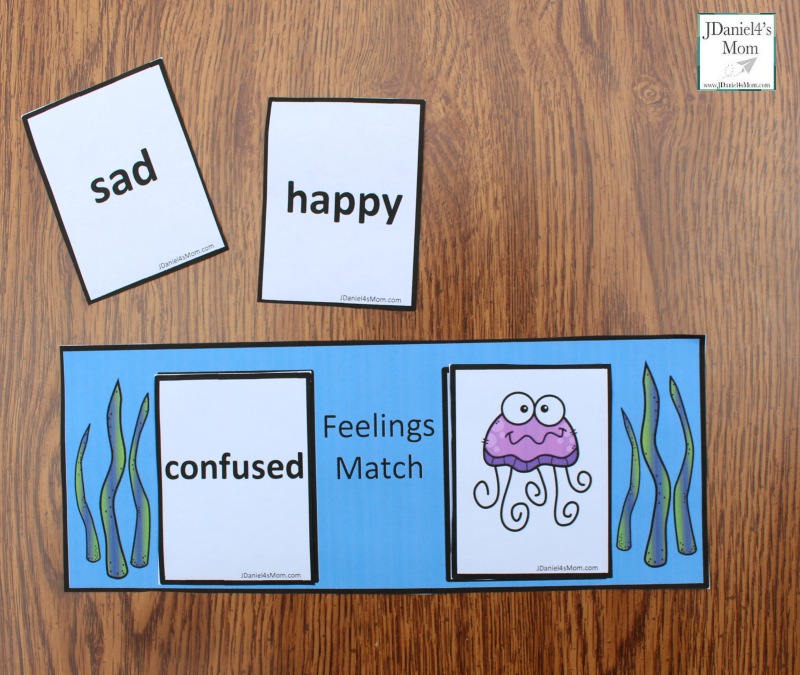 Teaching Feelings with Jellyfish-  Feeling Choices