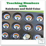 Teaching Numbers with Rainbows and Gold Coins