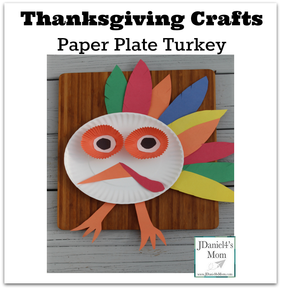 Thanksgiving Craft Paper Plate Turkey- Facebook