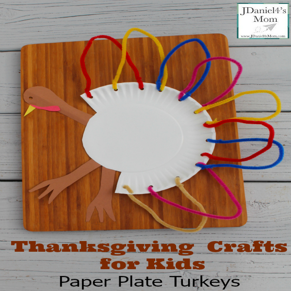 Thankgiving Crafts for Kids Plate Plate Turkeys