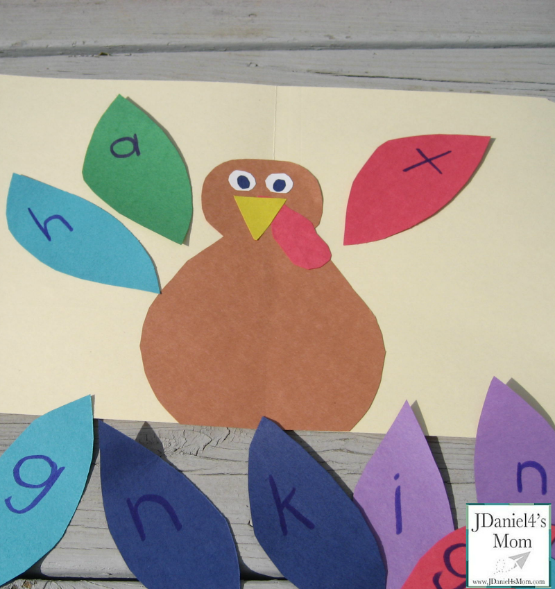 Spelling Games- Thanksgiving Words
