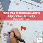 The Day it Rained Hearts Algorithm Activity Featured
