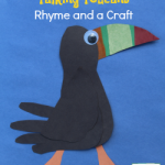 Three Tropical Rain Forest Talking Toucans Rhyme and a Craft