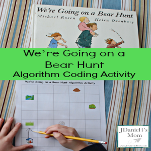 Coding Activity- We're Going on a Bear Hunt Algorithm