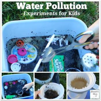 Water Pollution Experiments for Kids