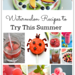 Watermelon Recipes to Try This Summer- Sometimes my guys inhale watermelon slice after slice. These terrific recipes are the ones I am going to try when there is watermelon leftover.