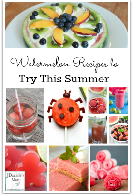 Watermelon Recipes to Try This Summer