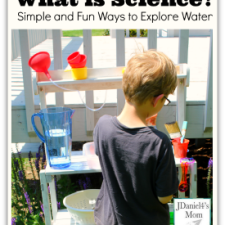 What is science? Simple and Fun Ways to Explore Water