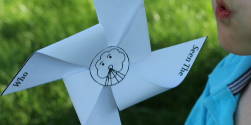 Windy and Cool Science Experiments with Free Printable