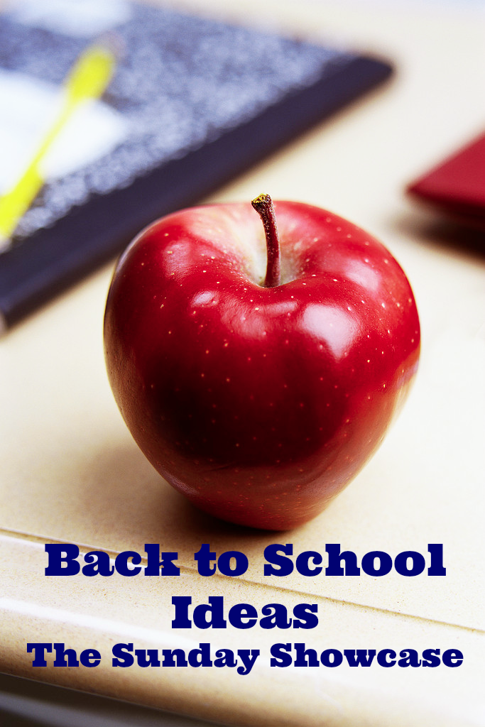 Back to School Ideas- The Sunday Showcase
