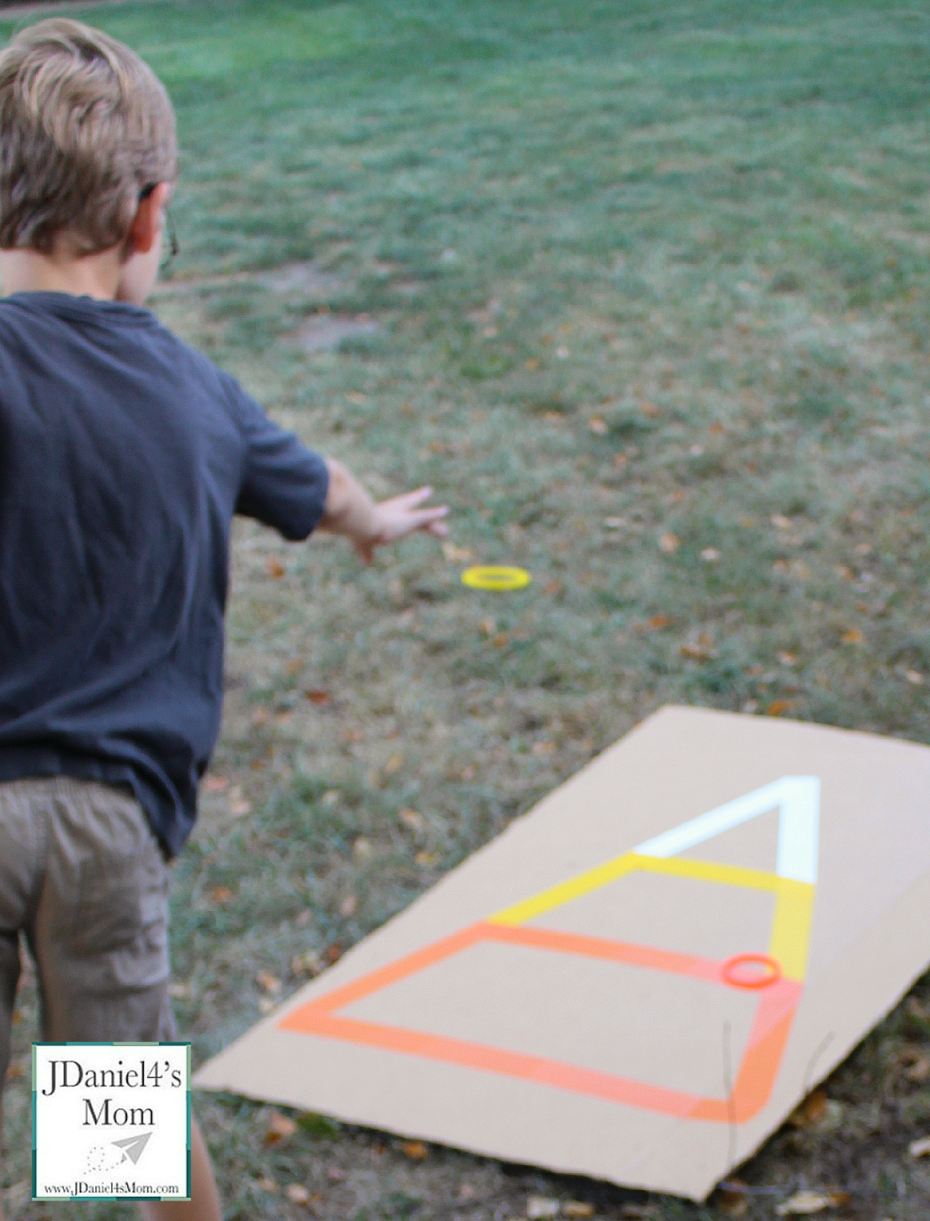 Halloween Games- Candy Corn Ring Toss