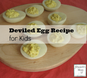 Deviled Egg Recipe for Kids