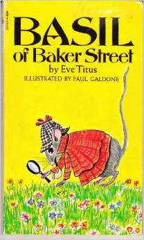 Spotlight on Mystery Books for Kids- Basil of Baker Street