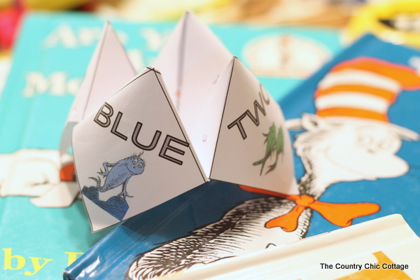 Cootie Catcher Learning Games With a Blank Template