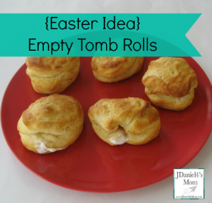 Easter Idea- Empty Tomb Rools