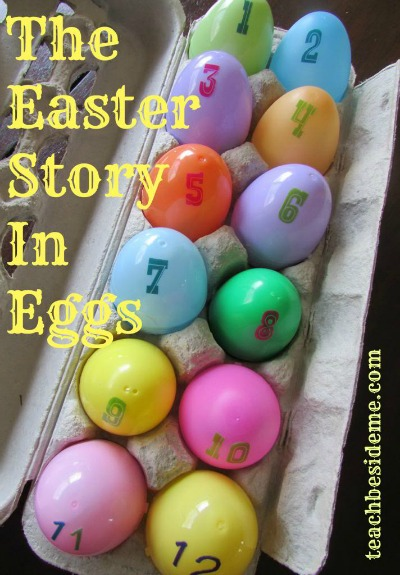 Easter Idea- Easter Story In Eggs
