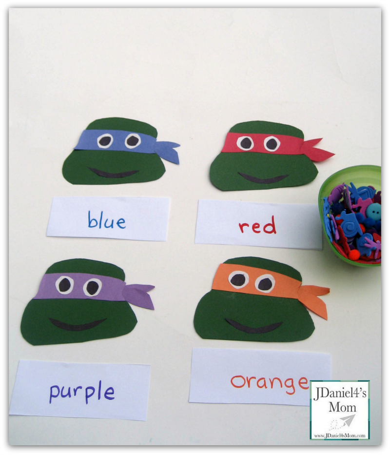 Educational Games- Color Sorting Turtles