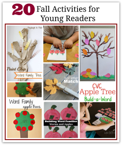 Fall Activities for Young Readers