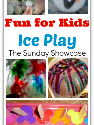 Fun for Kids: Ice Play- The Sunday Showcase