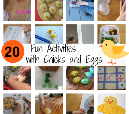 Fun Activities with Chicks and Eggs
