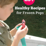 Healthy Recipes for Frozen Pops